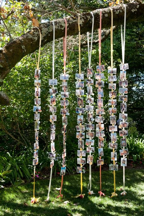 25 creative diy photo display wedding decor ideas diy