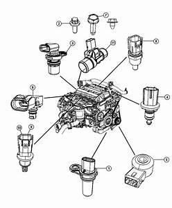 Dodge Caliber Sensor  Air Temperature  Temperature