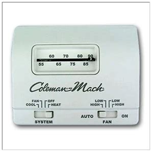 Thermostats For Coleman Mach