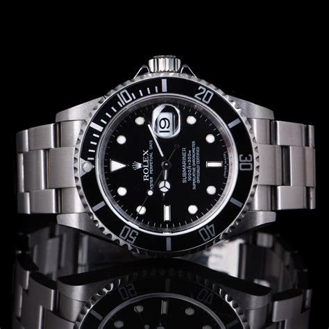 Rolex Submariner Date Ref: 16610LN Never polished - 40mm ...