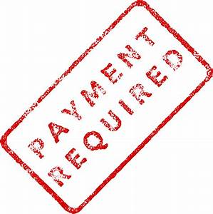 clipart payment required business stamp 2 With business stamps for invoices