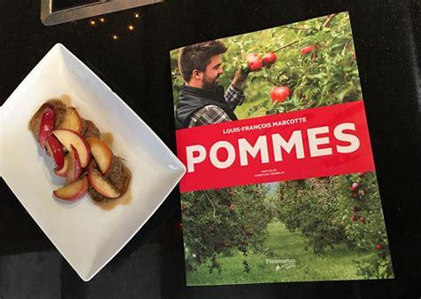 marcotte cuisine le menu complètement pomme de louis françois marcotte