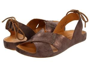 Kork Ease Bette Vacchetta by Kork Ease Hailey Wedge Sandal