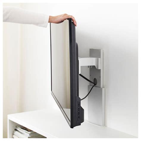Ikea Tv Wandhalterung by Ikea Uppleva Bracket For Tv Swivel Light Gray In 2019