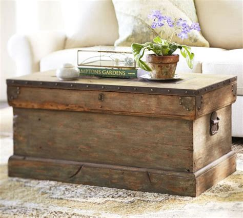 Ebay Patio Furniture Used by Diy Wooden Trunk Coffee Table Quick Woodworking Projects