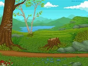 Landscape PIXEL ART by BaukjeSpirit on DeviantArt