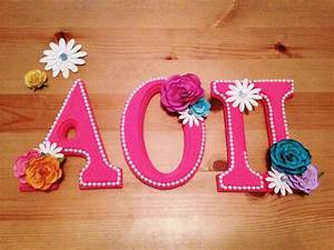 1000 ideas about decorated sorority letters on pinterest With letter ornaments michaels
