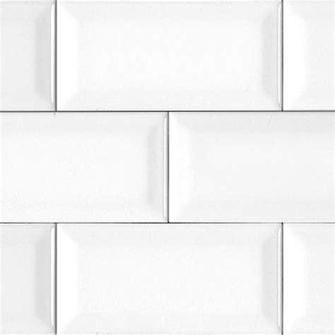 white bevelled matte subway tile i beveled edge adds