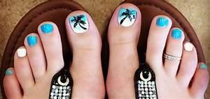 15 Summer-Inspired Beach Toenail Designs | Nail Design Ideaz