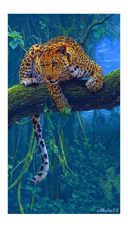 Animals Wild Nature Painting