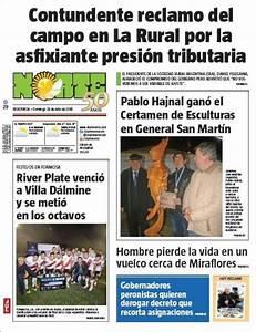 Peri U00f3dico Diario Norte  Argentina   Peri U00f3dicos De Argentina  Edici U00f3n De Domingo  29 De Julio De