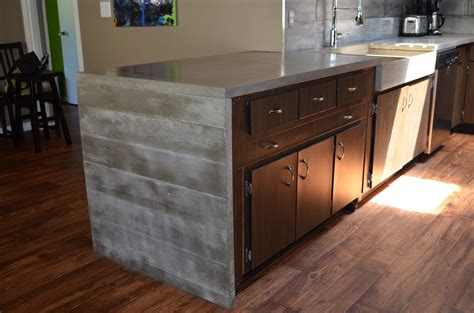 custom kitchen islands that look like furniture mode concrete modern contemporary concrete kitchen with