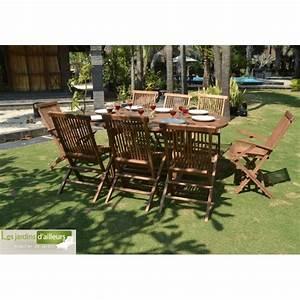 Salon Jardin Teck : salon de jardin en teck massif pas cher ibiza ~ Melissatoandfro.com Idées de Décoration