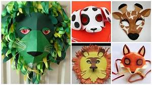 How to make animal mask for kids- Simple Craft Ideas