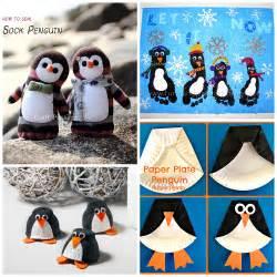 Penguin Crafts for Kids to Make