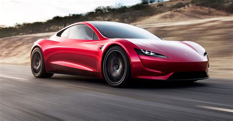 Tesls Car by Tesla Ceo Elon Musk Unveils A New Car A New Roadster