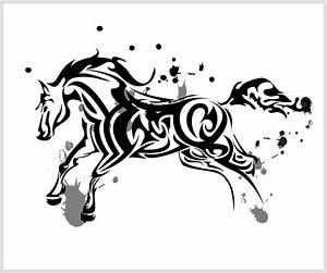 Horse tribal by ChronoPhoenix on DeviantArt | Tribal Horse ...