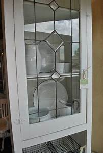 how to make an inexpensive diy leaded glass window With what kind of paint to use on kitchen cabinets for ball jar candle holder
