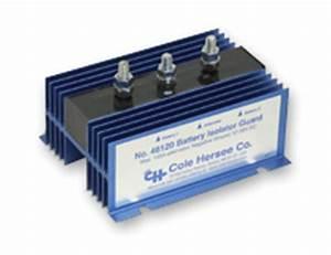 Battery Isolators For Multiple Batteries