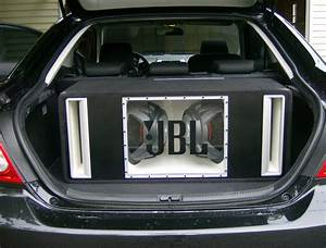 """Two 12"""" JBL subs (ported)"""