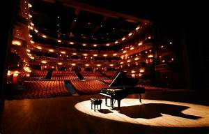 Steinway piano at the Concert Hall at The Yong Siew Toh ...