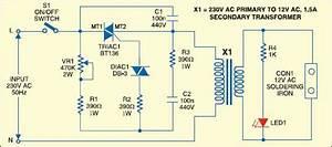 Simple Soldering Iron Temperature Regulator