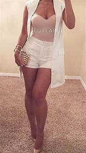 Cute Summer Outfits With White Shorts | www.pixshark.com - Images Galleries With A Bite!