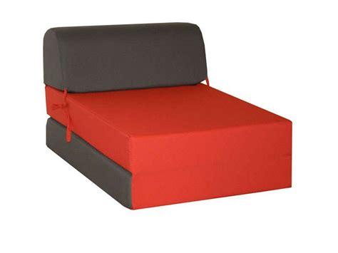 canapé lit pliable chauffeuse lit d 39 appoint 1 place chappo coloris