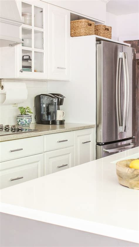 Cabinets Around Fridge by How To Frame A Refrigerator That Is Wide For Opening