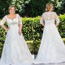 Plus size wedding dress designer pluslookeu collection for Wedding dress sizing