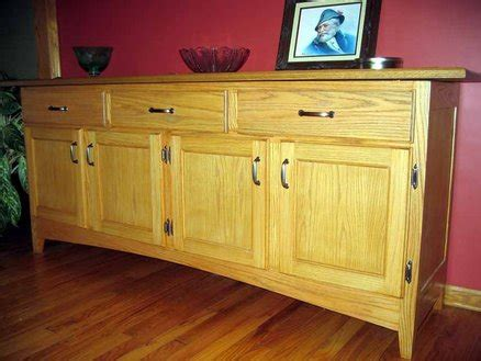 oak cabinets kitchen modified shaker styled sideboard by dave haynes 4594
