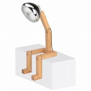 Lampe Metall Schwarz : tischlampe mister woody scheinwerfer mit beinen kramsen ~ Articles-book.com Haus und Dekorationen