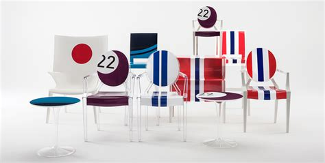 Kartell Design by Lapo Elkann Reinterprets Kartell S Icons With Car Wrapping