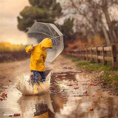 Rain Playing Play Splash Learning Through Create