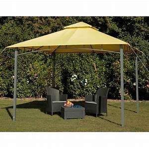 Pavillon Für Garten : tepro garten pavillon 3x3 m gartenzelt wasserdicht camping ~ Michelbontemps.com Haus und Dekorationen