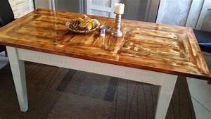 Holz Aufhellen Hausmittel : tischplatte aus rest holz mit 4 holzsorten hand im gl ck ~ Lizthompson.info Haus und Dekorationen