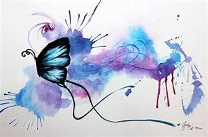 Watercolour Butterfly by jesslynlcl on DeviantArt
