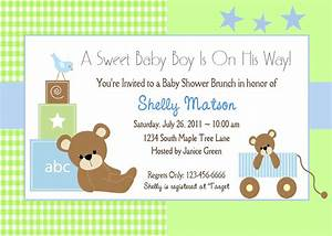 Baby shower invitation wording lifestyle9 for Free baby invitation template