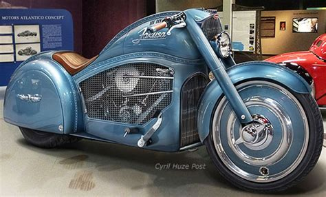 Concept Motorcycle Inspired By 1936 Bugatti 57sc Atlantic