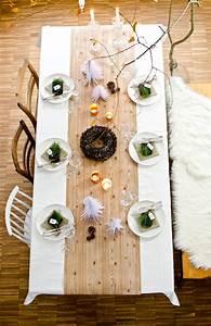 Tischdeko Für Weihnachten Ideen : tischdeko f r weihnachten leelah loves ~ Markanthonyermac.com Haus und Dekorationen