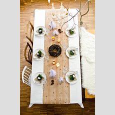 Tischdeko Für Weihnachten  Leelah Loves