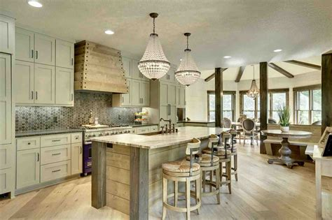 rustic industrial white kitchen archdsgn