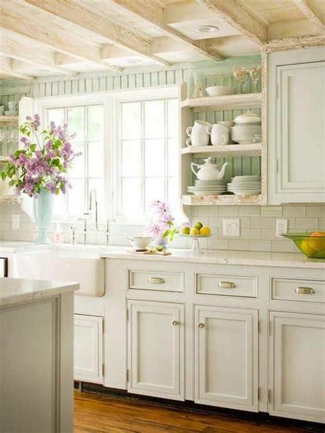 variantes pour les cuisines blanches cuisine cottage