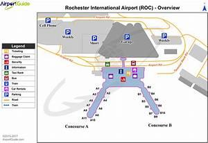 Rochester - Greater Rochester International (ROC) Airport ...