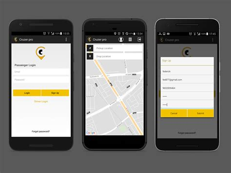 android app taxi booking  web admin panel complete