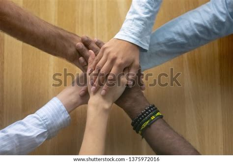 Multi Ethnic Reliable Team Business People Stock Photo ...