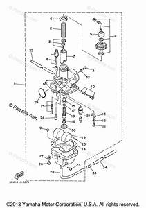 Yamaha Atv 2010 Oem Parts Diagram For Carburetor