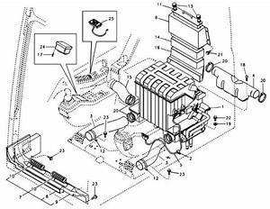 Voe14590052 Voe14631179 Excavator Air Conditioner