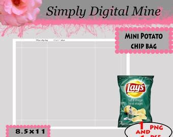 custom chip bag template simply digitalmine loved by 1 583 etsy shoppers handmade hunt