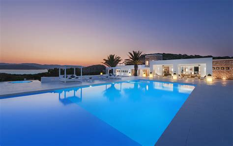 Luxury Villa On Swedish Island by Luxury Villa Tagomago Island Ibiza Spain